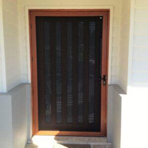 Crimsafe wide door