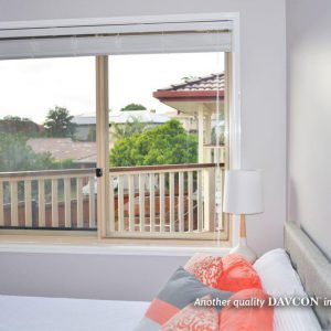 Crimsafe security screens installed on bedroom windows