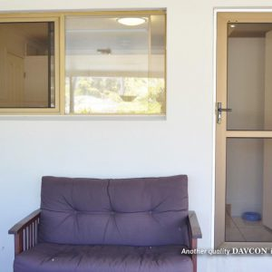 Hinged Crimsafe Door and Crimsafe Windows