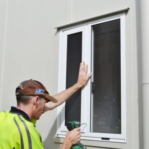 Crimsafe Ultimate window installation
