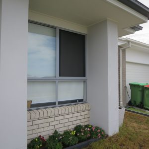 Crimsafe security screens installed on windows