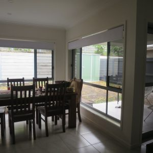Crimsafe security screens installed on doors and windows in living area