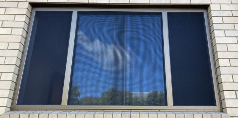 Crimsafe window installation by Davcon