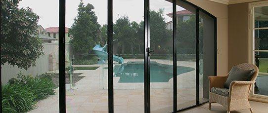 Crimsafe patio enclosures - Davcon security screens
